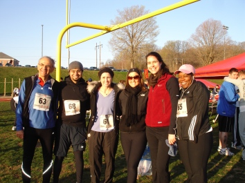 Quantico 10K Runners Post-Race