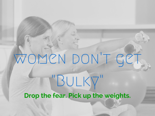 WW Women Don't Get Bulky
