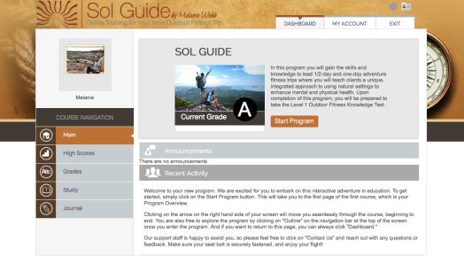 Sol Guide Title Page