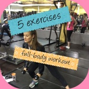 5 exercises, full-body workout